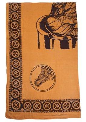 Buddha Design Cotton Sheet Item 35340
