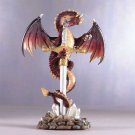 Red Dragon On Sword Item 31527