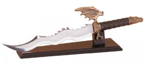 Dragon Sword With Display Stand Item 30053