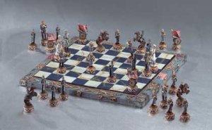 Civil War Chess Set Item 34736