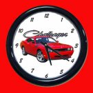 2009 Dodge Challenger RT Wall Clock