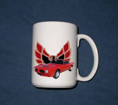 New Huge 15 Oz. 1973 Pontiac Trans AM Mug