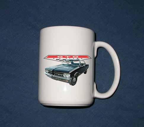 New Huge 15 Oz. 1964 Pontiac GTO Mug