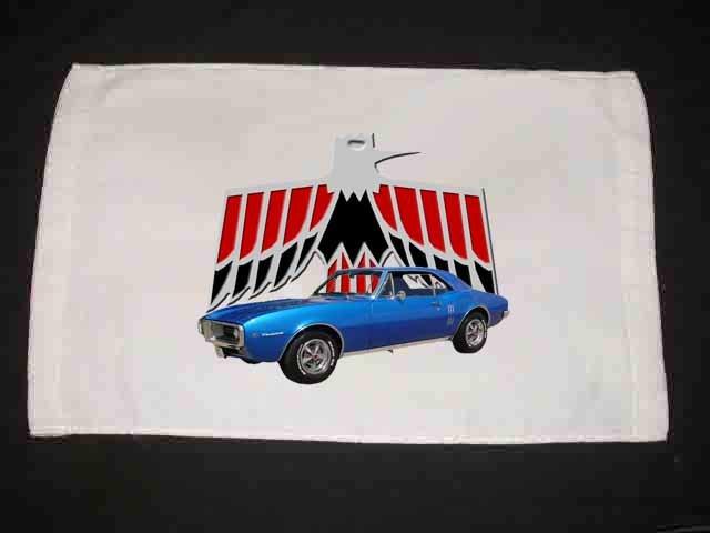 New 1967 Pontiac Firebird Hand Towel