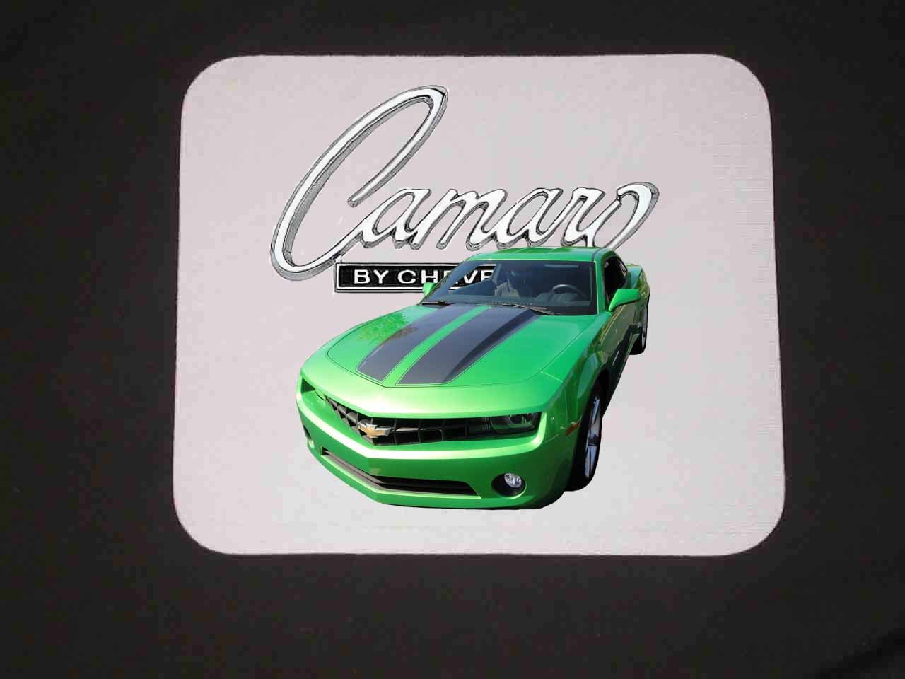 New 2010 Synergy Green Chevy Camaro Mousepad