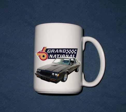 New 15 oz. Buick Grand National mug