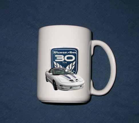 New 15 oz. 1999 30th anniversary Trans AM mug