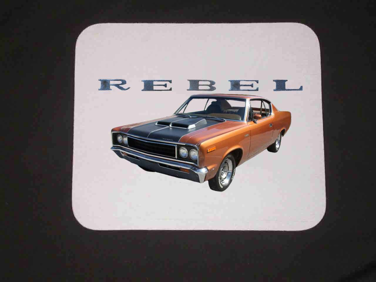 New 1970 AMC Rebel Mousepad!