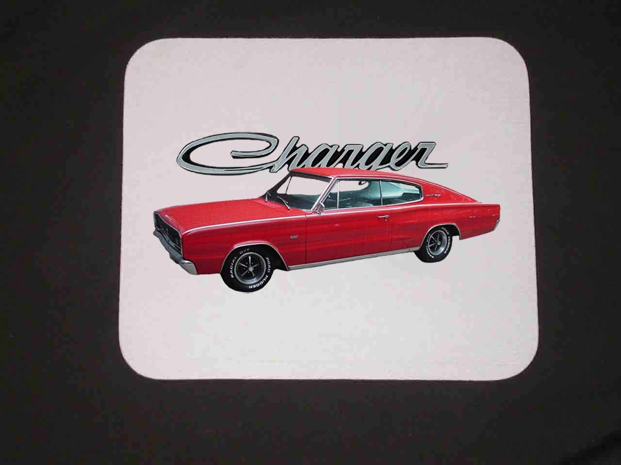 New 1966 Dodge Charger Mousepad!!
