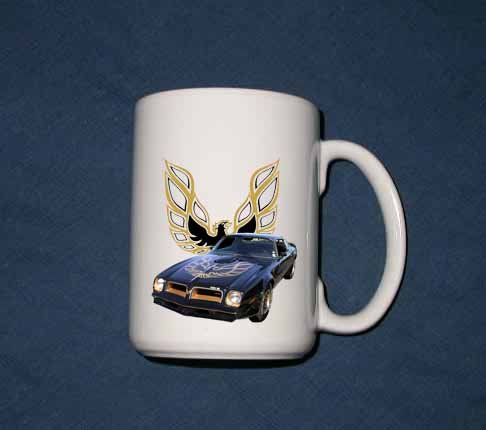 New 15 oz. 1976 Pontiac  Trans AM SE mug