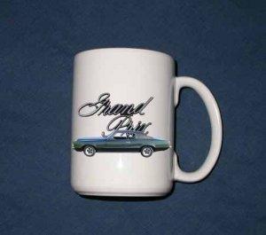 New Huge 15 Oz. 1969 Pontiac Grand Prix Mug