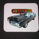 New Black 1970 Olds 442 Mousepad!