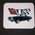 New 1969 Chevy El Camino w/ flags Mousepad!