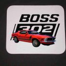 New Red 1970 Ford Boss Mustang Mousepad!
