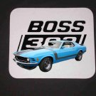 New Blue 1970 Ford Boss Mustang Mousepad!