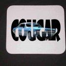 New 1968 Mercury Cougar XR7 w/letters Mousepad!