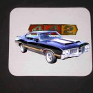 New Black/Gold 1970 Olds 442 Mousepad!