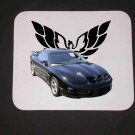 New 2000 Black Pontiac Trans AM WS6 Mousepad!