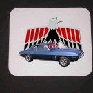 New 1969 Blue Pontiac Firebird Mousepad!