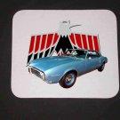 New 1968 Blue Pontiac Firebird Mousepad!