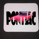 New 1970 Red Pontiac Formula Firebird w/letters Mousepad!