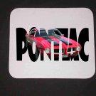 New 1971 Red/Black Pontiac Formula Firebird w/ letters Mousepad!