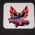 New 1973 Red Pontiac Formula Firebird Mousepad!