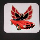 New 1974 Red Pontiac Formula Firebird Mousepad!