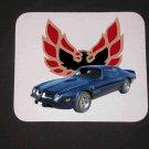 New 1974 Blue Pontiac Trans AM no Eagle Mousepad!