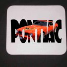 New 1976 Red/Orange Pontiac Trans AM w/ letters Mousepad!