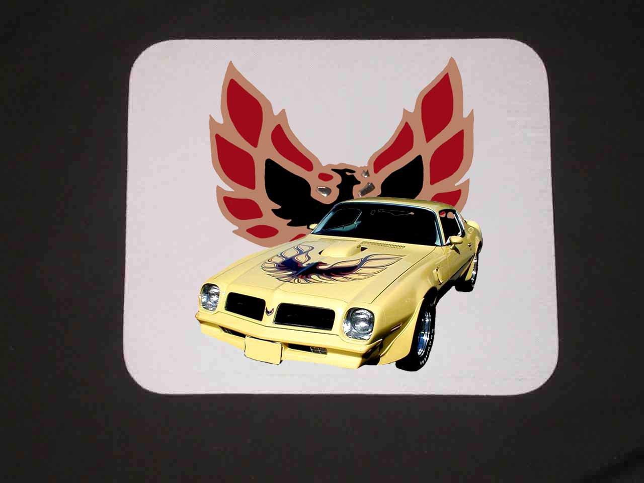 New 1976 Yellow Pontiac Trans AM Mousepad!