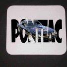 New 1977 Black Pontiac Bandit Trans AM SE w/ letters Mousepad!