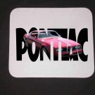 New 1977 Red Pontiac Firebird w/ letters Mousepad!
