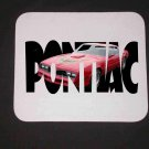 New 1977 Red Pontiac Trans AM w/ letters Mousepad!