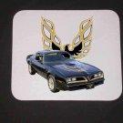 New 1977 Black Pontiac Bandit Trans AM SE Mousepad!
