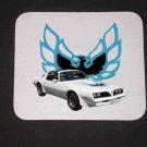 New 1978 White Pontiac Firebird Mousepad!
