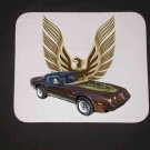 New 1979 Brown Pontiac Trans AM Mousepad!
