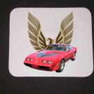 New 1980 Red Pontiac Trans AM Mousepad!