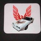 New 1981 White Pontiac Firebird Trans AM Mousepad!