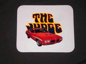 New Red 1970 Pontiac GTO Judge Mousepad!