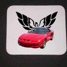 New 1998 Red Pontiac Trans AM Mousepad!