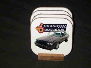 New 1987 Buick Grand National Hard Coaster set!!