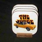 New 1970 Orange Pontiac GTO Judge Convertible Hard Coaster set!
