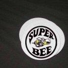 New Dodge Superbee Logo Soft Coaster set!!