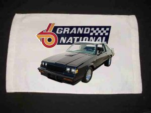 New 1987 Buick Grand National Hand Towel