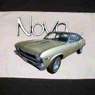 New 1968 Chevy Nova Hand Towel