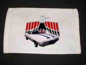 New 1969 Pontiac Trans AM Hand Towel