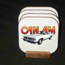 New 1977 Pontiac Can AM Hard Coaster set!