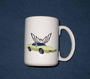 New 15 oz. 1992 Pontiac Formula Firebird mug