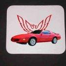 New 1991 Red Pontiac Formula Firebird Mousepad!